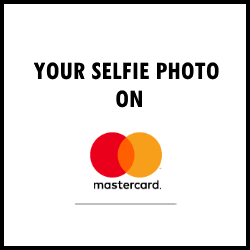 selfie on your card
